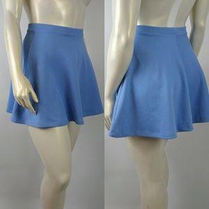 ASOS Flare Skater Light Blue Skirt Size 4